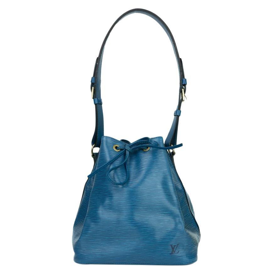Louis Vuitton, Noé in blue leather