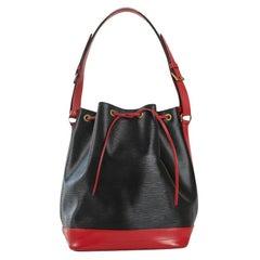 LOUIS VUITTON Noé Shoulder bag in Black Leather