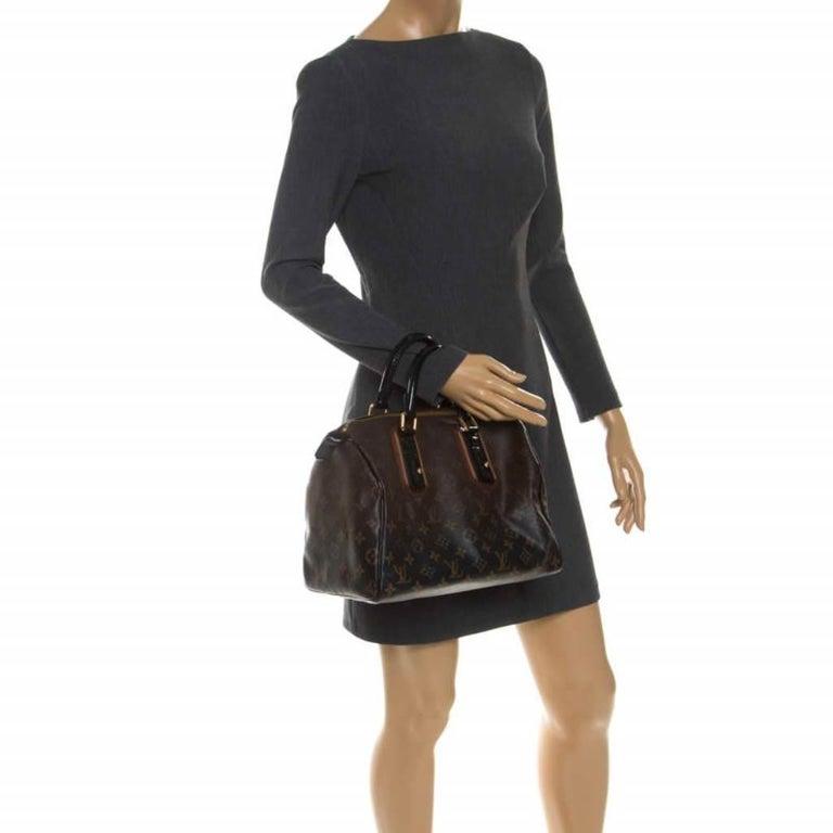 Louis Vuitton Noir Monogram Limited Edition Mirage Speedy 30 Bag In Good Condition For Sale In Dubai, Al Qouz 2