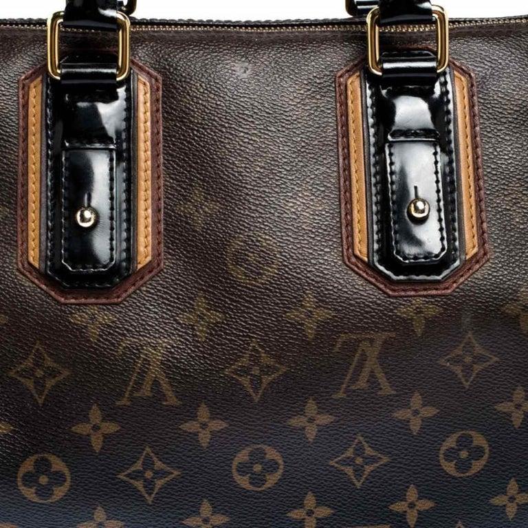 Louis Vuitton Noir Monogram Limited Edition Mirage Speedy 30 Bag For Sale 3