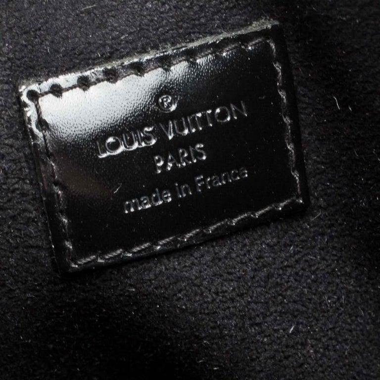 Louis Vuitton Noir Monogram Limited Edition Mirage Speedy 30 Bag For Sale 4
