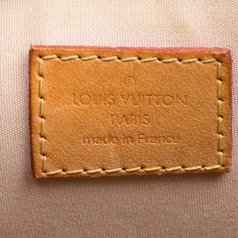 Louis Vuitton Noisette Monogram Vernis Alma PM Bag 2