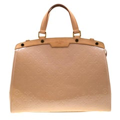 Louis Vuitton Noisette Monogram Vernis Brea GM Bag