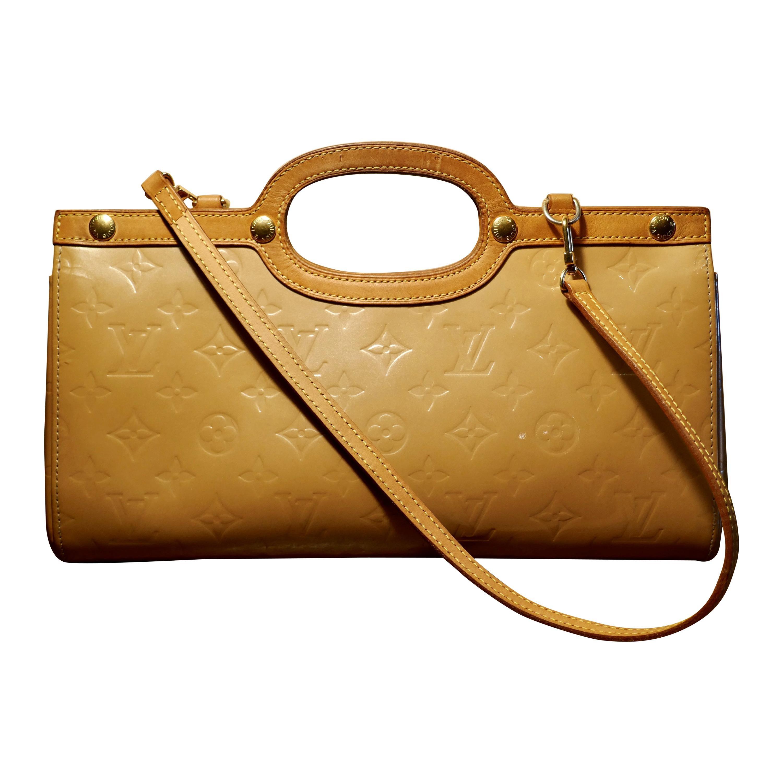 Louis Vuitton Noisette Vernis Roxbury Drive Bag