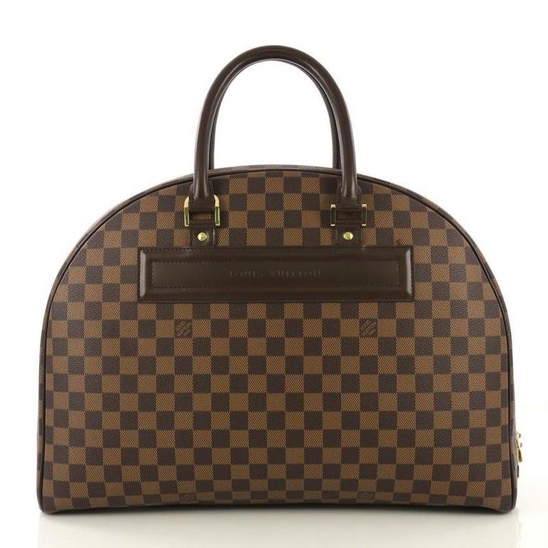 Black Louis Vuitton Nolita Handbag Damier 24 Heures