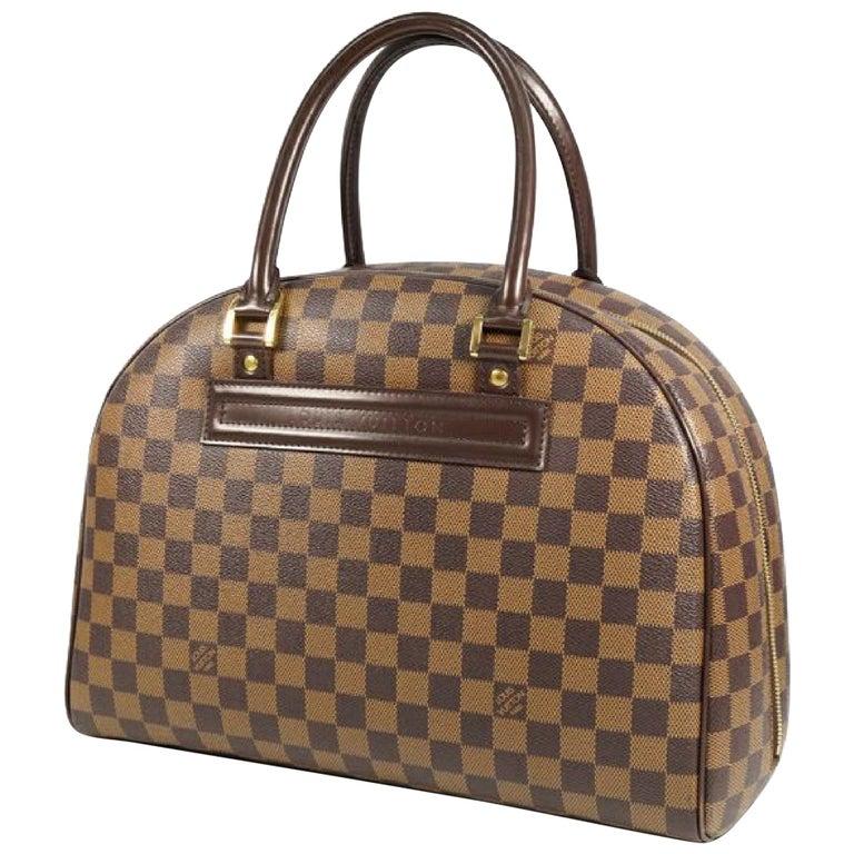 LOUIS VUITTON Nolita Womens Boston bag N41455 Damier ebene For Sale