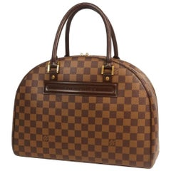 LOUIS VUITTON Nolita Womens Boston bag N41455 Damier ebene