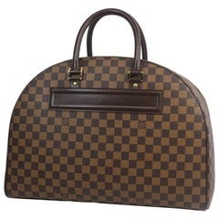LOUIS VUITTON Nolita24 Womens Boston bag N41454 Damier ebene