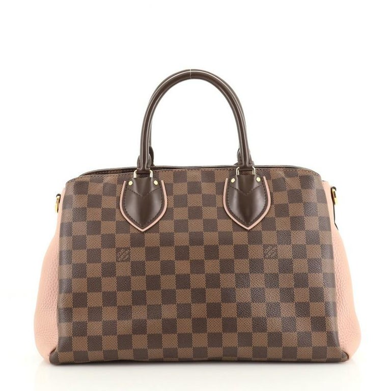 Brown Louis Vuitton Normandy Handbag Damier