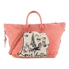 Louis Vuitton Nouvelle Vague Handbag Monogram Nylon