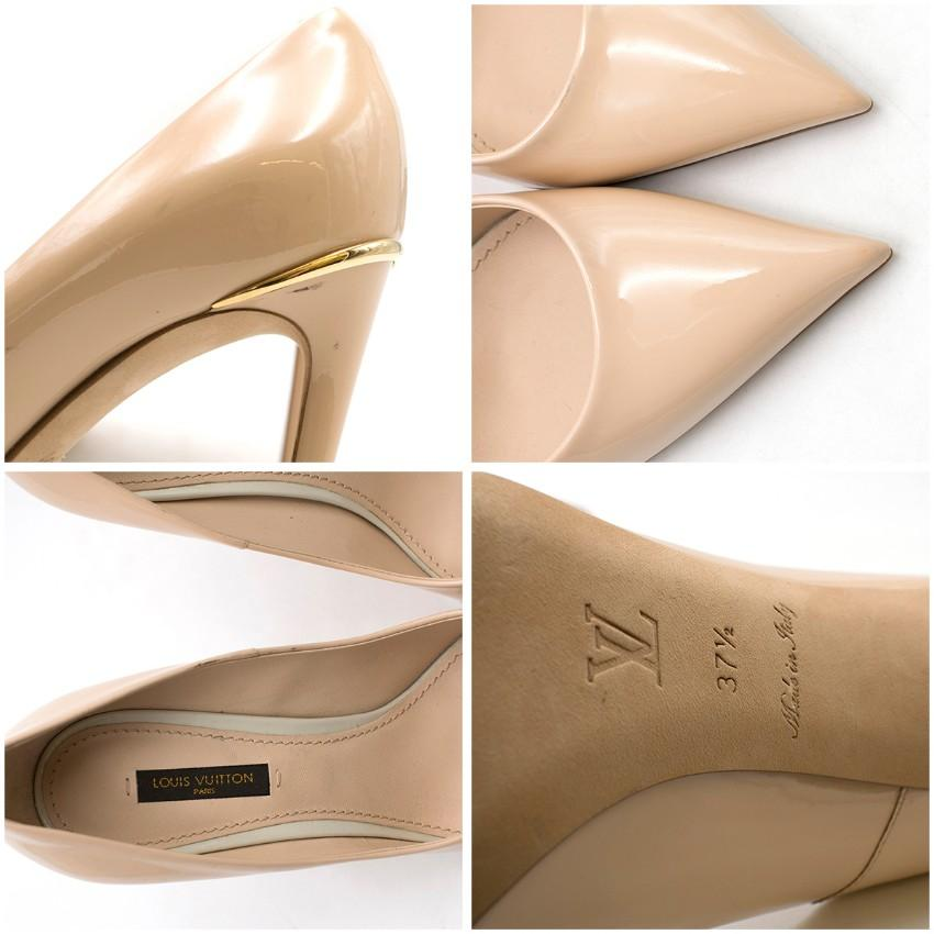 Louis Vuitton Nude Patent Leather First