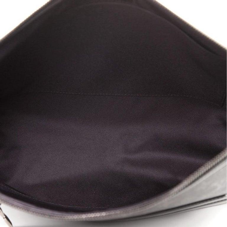 Louis Vuitton Odyssey Messenger Bag Monogram Eclipse Canvas MM For Sale 1