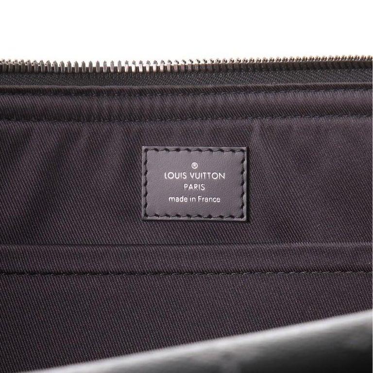 Louis Vuitton Odyssey Messenger Bag Monogram Eclipse Canvas MM For Sale 2