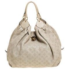Louis Vuitton Off White Monogram Mahina Leather XL Bag