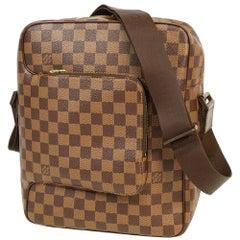 LOUIS VUITTON Olaf PM Womens shoulder bag N41441 Damier ebene