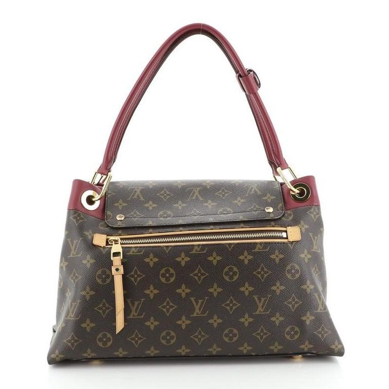 Louis Vuitton Olympe Handbag Monogram Canvas In Good Condition In New York, NY
