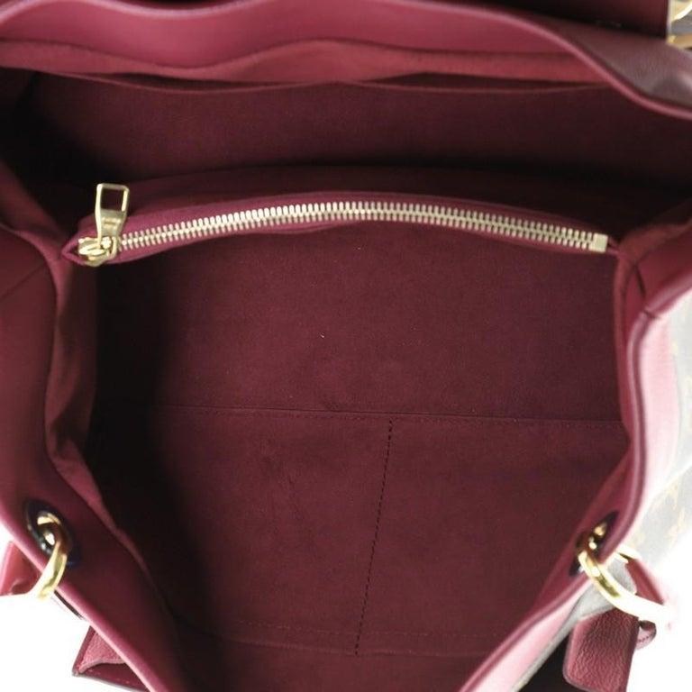 Louis Vuitton Olympe Handbag Monogram Canvas 1