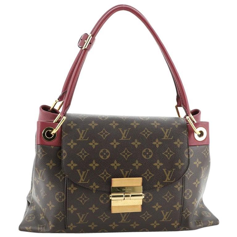 Louis Vuitton Olympe Handbag Monogram Canvas