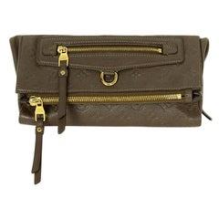 Louis Vuitton Ombre Leather Empreinte Monogram Petillante Clutch Bag