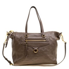 Louis Vuitton Ombre Monogram Empreinte Leather Lumineuse PM Bag