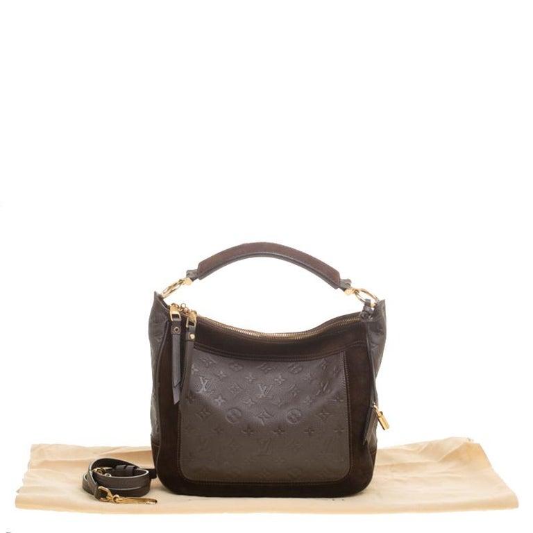 Louis Vuitton Ombree Monogram Empreinte Leather Audacieuse PM Bag 6