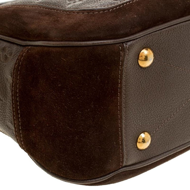 Louis Vuitton Ombree Monogram Empreinte Leather Audacieuse PM Bag 4