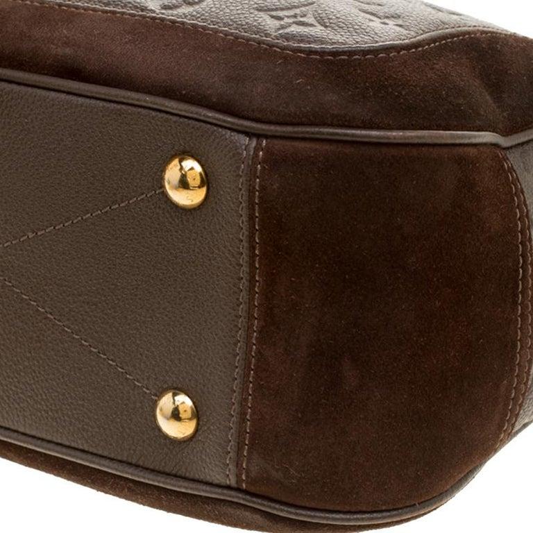 Louis Vuitton Ombree Monogram Empreinte Leather Audacieuse PM Bag 5