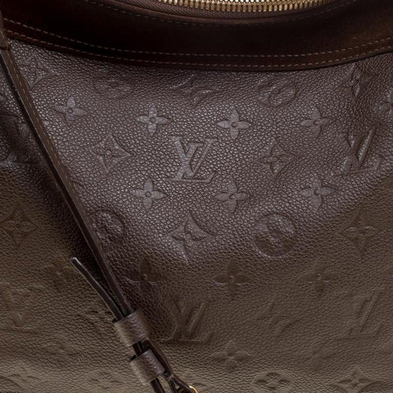 Women's Louis Vuitton Ombree Monogram Empreinte Leather Audacieuse PM Bag