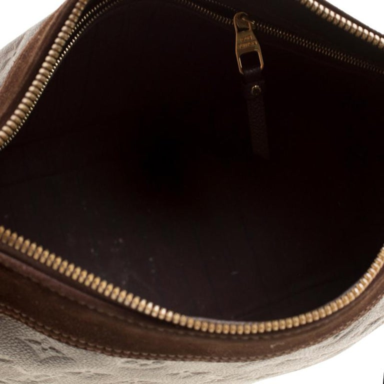 Louis Vuitton Ombree Monogram Empreinte Leather Audacieuse PM Bag 1
