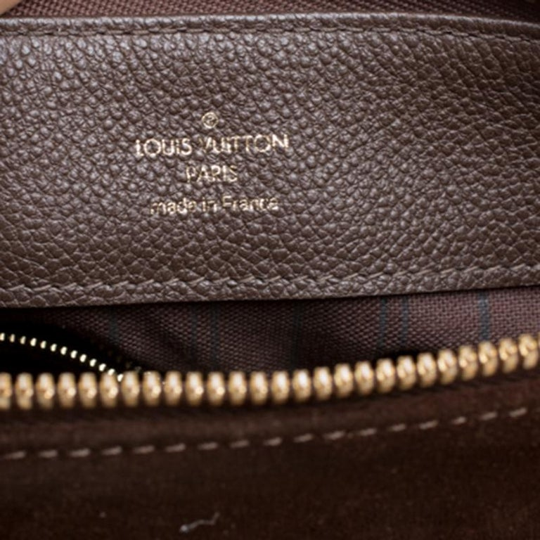 Louis Vuitton Ombree Monogram Empreinte Leather Audacieuse PM Bag 2