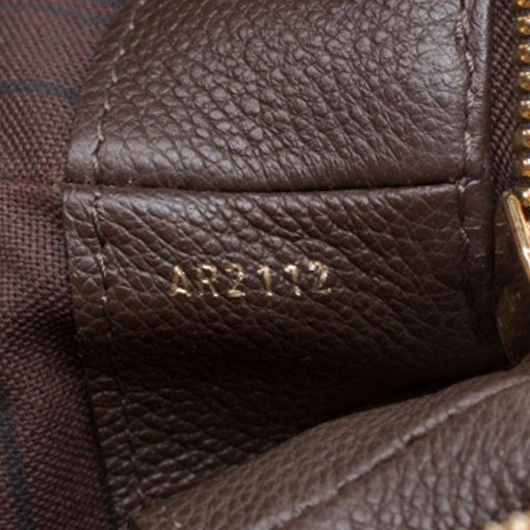 Louis Vuitton Ombree Monogram Empreinte Leather Audacieuse PM Bag 3