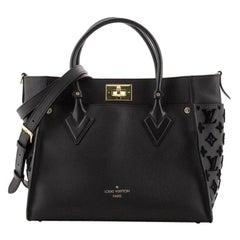Louis Vuitton On My Side Tote Monogram Tuffetage Leather