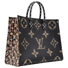 Louis Vuitton On the Go Jungle collection 2019 Full Set NEW