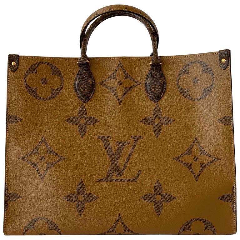 2377c9e48c Louis Vuitton Onthego Tote Giant Monogram Reverse