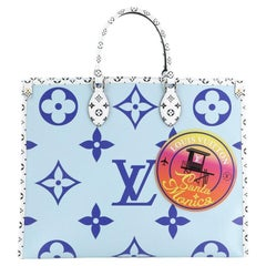 Louis Vuitton  OnTheGo Tote Limited Edition Cities Colored Monogram Giant