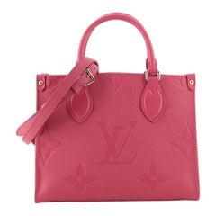 Louis Vuitton OnTheGo Tote Monogram Empreinte Giant PM