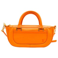 Louis Vuitton Orange Epi Leather Dhanura PM Bag