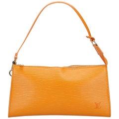 Louis Vuitton Orange Epi Pochette Accessoires