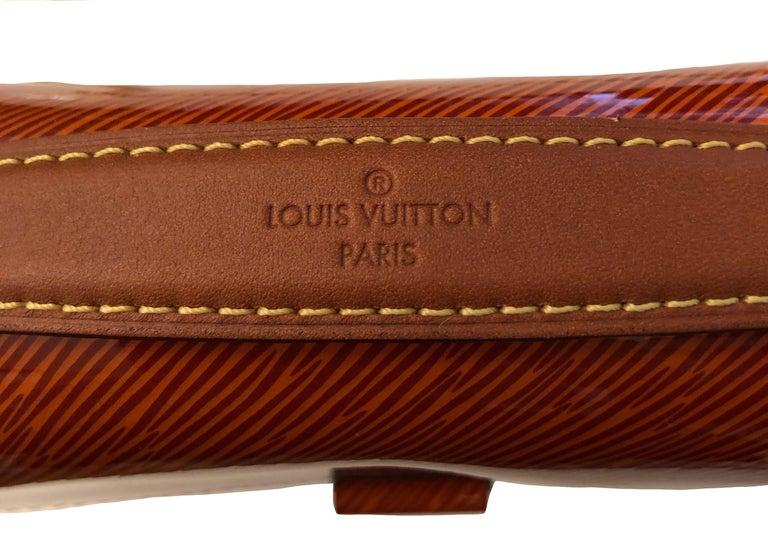 Louis Vuitton Orange Gold Patent Epi Leather Mini Pochette Metis  In Excellent Condition For Sale In Geneva, CH