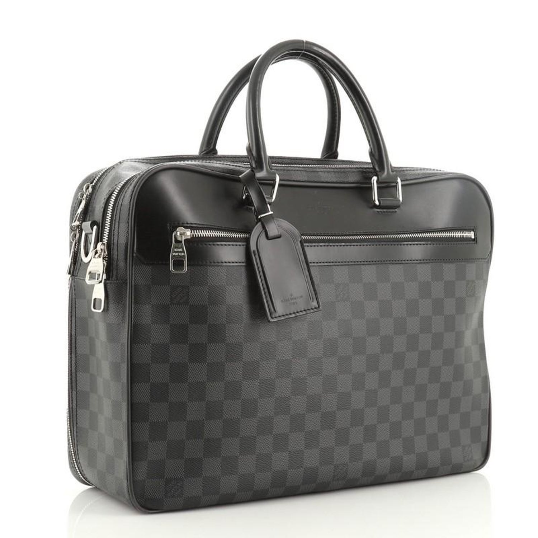 Overnight Handbag Damier Graphite