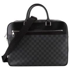 Louis Vuitton Overnight Handbag Damier Graphite