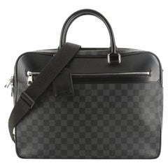 Louis Vuitton Overnight Handbag Damier Graphite