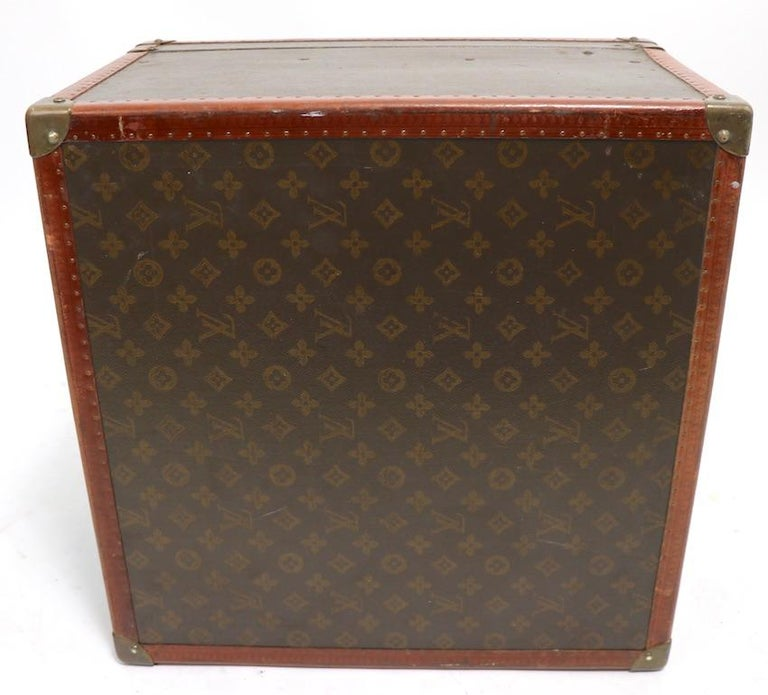 Louis Vuitton Overnight Trunk Antique Luggage For Sale 1