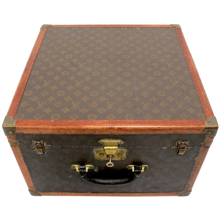 Louis Vuitton Overnight Trunk Antique Luggage For Sale