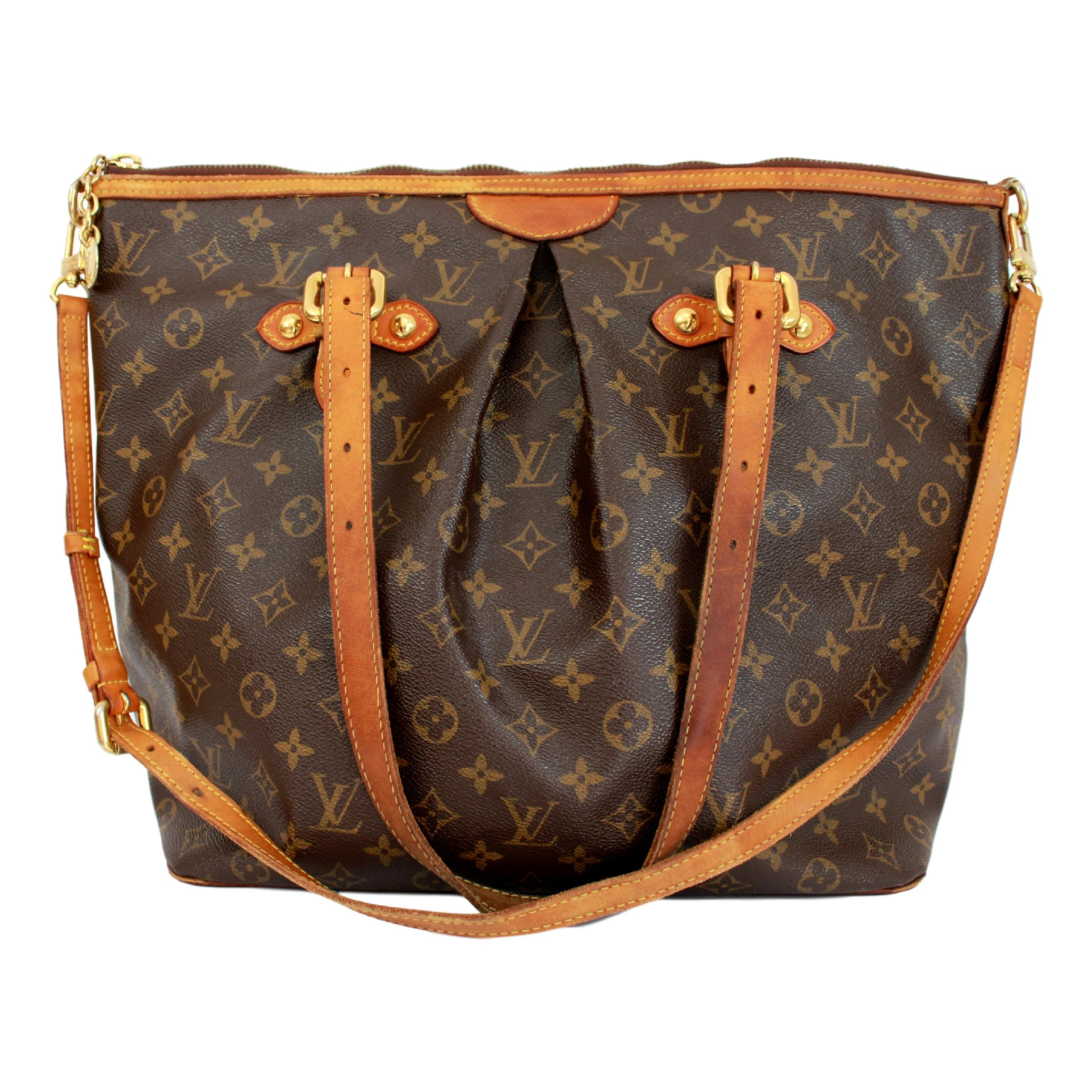 9be62c7fd0ad Louis Vuitton Palermo GM Monogram Shoulder Bag Brown For Sale at 1stdibs