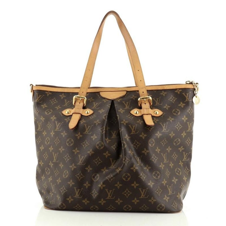 Louis Vuitton Palermo Handbag Monogram Canvas GM In Good Condition For Sale In New York, NY