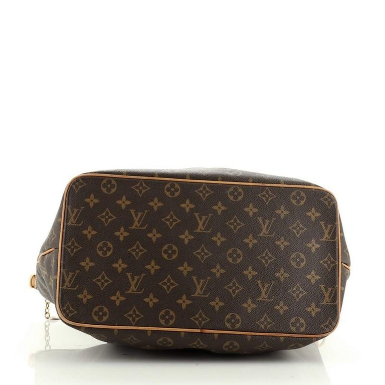 Women's or Men's Louis Vuitton Palermo Handbag Monogram Canvas GM For Sale