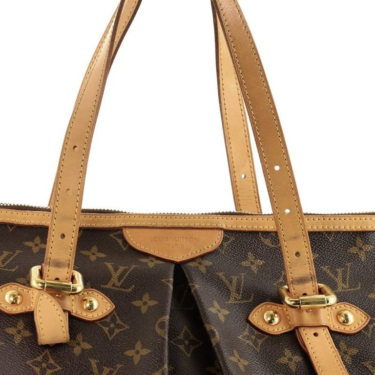 Louis Vuitton Palermo Handbag Monogram Canvas GM For Sale 2