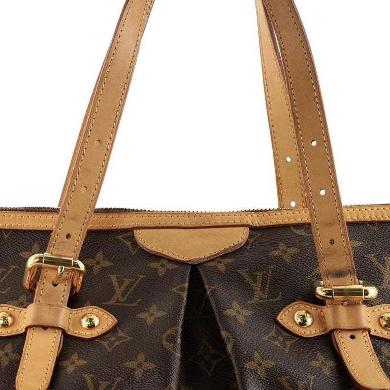 Louis Vuitton Palermo Handbag Monogram Canvas GM For Sale 3