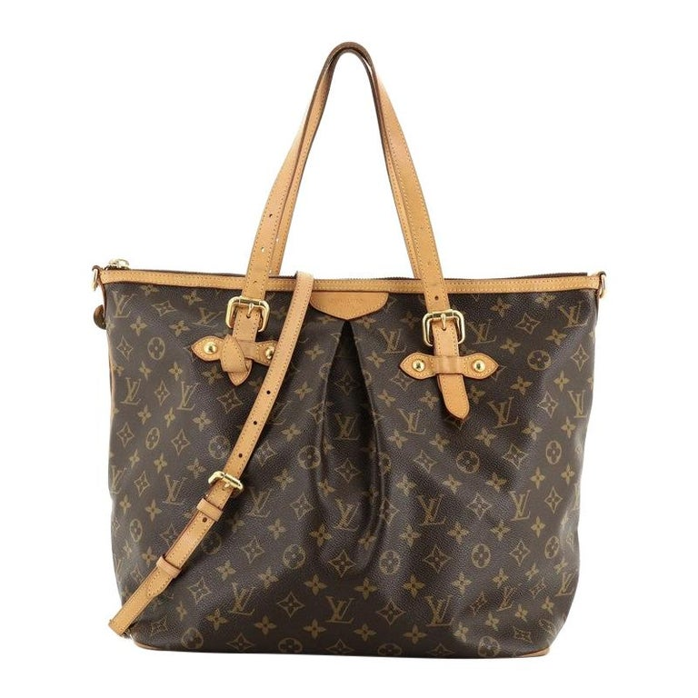 Louis Vuitton Palermo Handbag Monogram Canvas GM For Sale